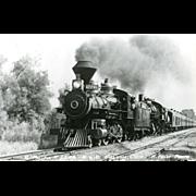 Photo Southern Pacific Railroad RR Steam Locomotive #2248. Excellent Condition  RPPC
