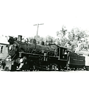 VT RR Railroad Line Steam Locomotive #5 RPPC Photo