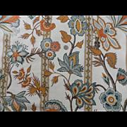 Schumacher Smithsonian KASHMIRI Jacobian Fabric Cooper Hewitt 3 yards