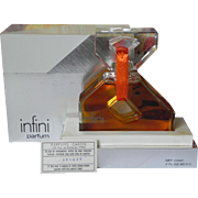 Large Caron Infini Sealed Bottle 2 oz Pure Parfum Extrait Vintage French Perfume 60ml