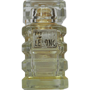 Very Rare Lucien Lelong Mon Image EMPTY Parfum Tiered Bottle France Vintage Perfume