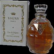 Sealed Bottle Vintage Vigny Heure Intime Eau de Cologne EDC 2 oz French Perfume