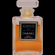RESERVED True Vintage Coco Chanel EDP Eau de Parfum Faceted Stopper 4ml Miniature Mini