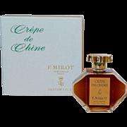 Crepe de Chine 1 oz Pure Parfum Extrait F Millot Perfume