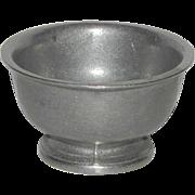 Wilton Armetale Pewter Queen Anne Tavern Open Sugar Condiment Small Serve Bowl