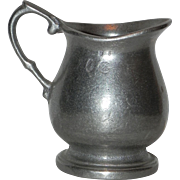 Wilton Armetale Pewter Queen Anne French Country Creamer Syrup Pitcher