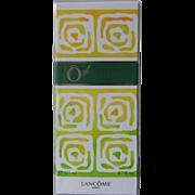 Sealed 4.2 oz Vintage O de Lacome Spray Eau de Toilette 125 ml EDT Perfume