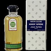 Moment Supreme Parfum Cologne Jean Patou Vintage Perfume