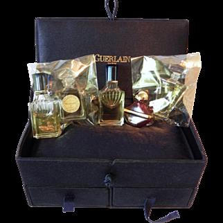 Mixed Boxed Set Guerlain Miniature Fragrances Shalimar Samsara Mitsouko Champs Elysees
