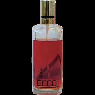 Large 4 oz Borghese Ecco Natural Spray Cologne Vintage Perfume