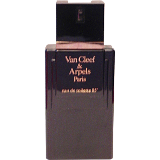 Original Vintage Van Cleef & Arpels EDT Spray 100ml 3.4 oz Eau de Toilette Pour Homme