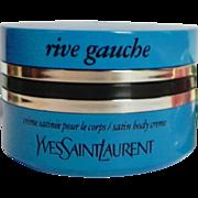 Vintage Yves Saint Laurent Rive Gauche Perfume Body Creme 200ml Cream Lotion NOS