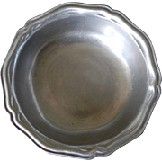 Vintage Wilton Armetale Pewter Queen Anne French Country Cereal Soup Dessert Bowl