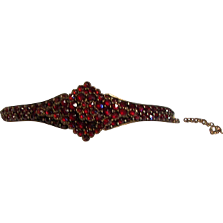 Victorian Era Garnet Bracelet