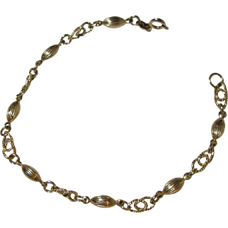 Beautiful14KT Gold Bracelet