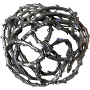 Mid-Century Twisted Thorn Brooch