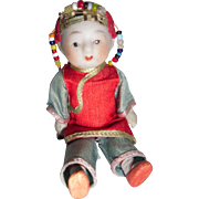 Small Chinese Boy Costume Doll