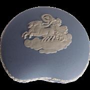 Blue Jasperware Ceramic Wedgwood Ring and Jewelry Dish