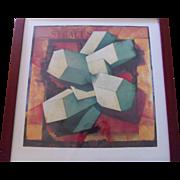 "Gio Pomodoro (Italian, 1930) Lithograph ""Syracuse"" Art Print"