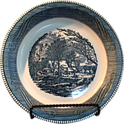 ON HOLD SALE PENDING Royal China Currier and Ives - Red Tag Sale Item
