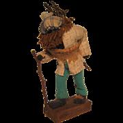 """Canadian Folk Art """"Woodman"""" figure"""