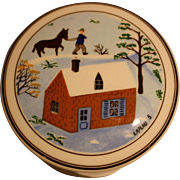 Villeroy & Boch Naif Design small porcelain box