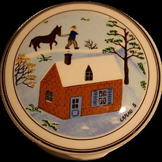 Villeroy & Boch Naif Design small porcelain box