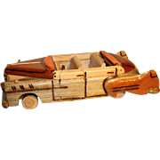 1950 Cadillac Convertible movable wood model