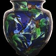 Mid Century Herman Kahler Floral Vase