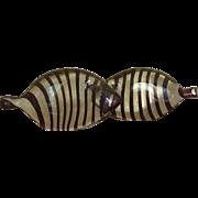 MCM Italian Venini Glass Striped Fish (2)