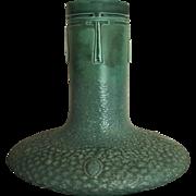 Austrian Amphora Matte Green Art Nouveau Vase