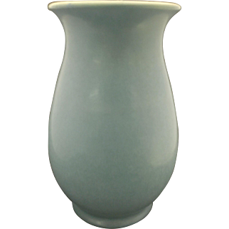 Art Deco Rookwood matte Blue Vase