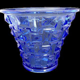Art Deco Orrefors Simon Gate Vase