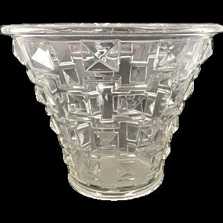 Rare Art Deco Orrefors Simon Gate Vase