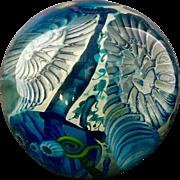 Jon Wolfe Studio Glass Sea Life Paperweight