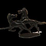 Austrian Werkstatte Richard Rohac Bronze Horses