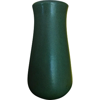 Marblehead Matte Green Early Vase