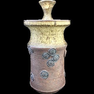 Modernist Studio Pottery Lidded Jar
