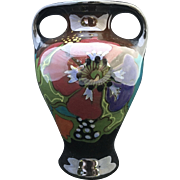 Art Deco Gouda Iris Vase