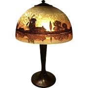 Art Nouveau Handel Lamp