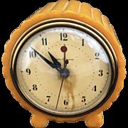 Art Deco G E Bakelite Clock / Works