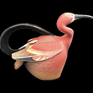 Modern Ceramist Anette Corcoran Scarlett Ibis