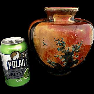 English Bernard Moore Flambe Vase