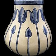 Susan Frackelton Art Pottery Vase