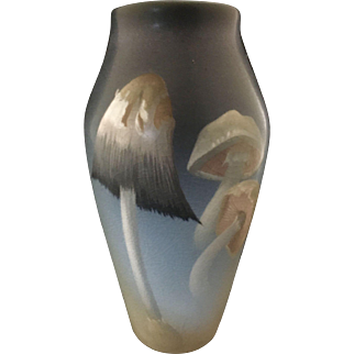 Rookwood Carl Schmidt Mushroom Vellum Vase