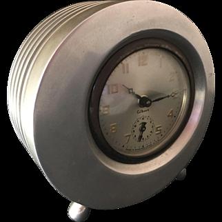 Art Deco Gilbert Aluminum Clock