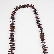 Genuine Vintage Baltic Amber nugget bead Necklace