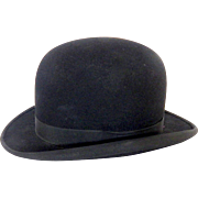 Classic English Bowler Hat, aka 'Melon' in French