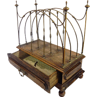 French Rack from a Turn-of-the-Century Pharmacy c. 1900