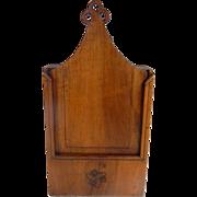 Provencal French Antique Flour Box, 'Fariniere', 19th cent.